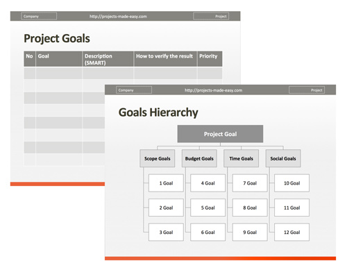 easy project management template